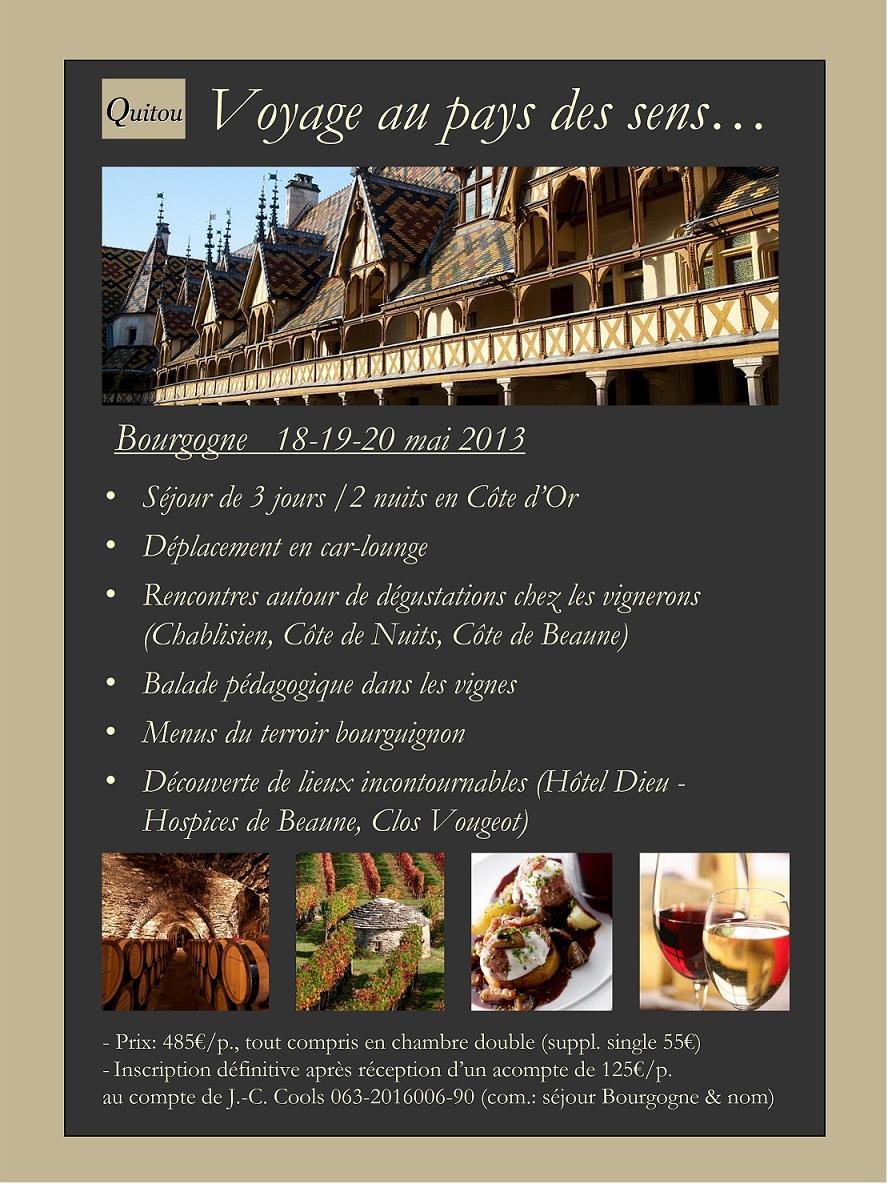 voyage bourgogne 2013