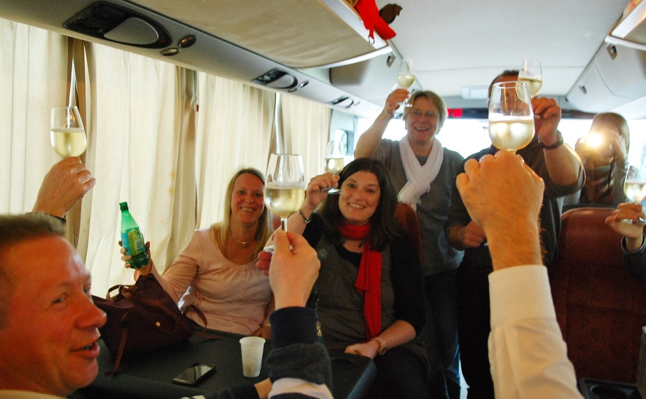 """Comment bien préparer notre """"Joyeuse Entrée"""" en Bourgogne - Crémant de paul Chollet - Copyright Quitou"""
