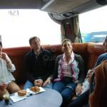 Petit déjeuner dans le car - Quitou Wine Travel