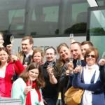 Apéritif dès la première halte sur l'autoroute pour Quitou Wine Travel