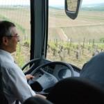 Roberto dans les Grands Crus de Chablis - Quitou Wine Travel