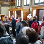 Quitou Wine Travel dans la salle saint-nicolas de l'Hôtel Dieu à Beaune