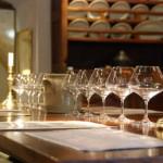 Prêts pour la dégustation au domaine Quivy à Gevrey-Chambertin