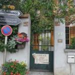 Façade de la maison Goulin-Roualet à Sacy en Champagne, dans la Montagne de Reims