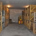 Stockage des bouteilles chez Goulin-Roualet