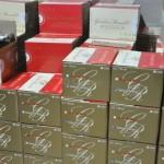 caisses de champagne de chez Goulin-Roualet