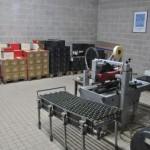 Etiqueteuse et préparation caisses chez Goulin-Roualet