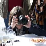 Reporter, champagne et biscuits de Reims chez Goulin-Roualet
