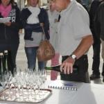 Dégustation du champagne blanc de blancs cuvée Saint-Vincent de Goulin-Roualet