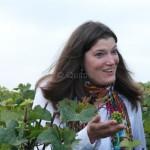 Test de maturité dans les vignes de Villedommange dans la Montagne de Reims