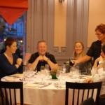 Apéritif au champagne au restaurant Le Théâtre à Epernay