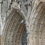 Voûtes d'entrée de la Cathédrale de Reims