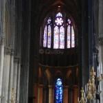 Nef centrale de la Cathédrale de Reims