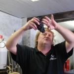Grappe de 216 grammes de pinot noir pour Emmanuel Pithois