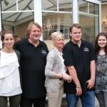 La famille d'Emmanuel Pithois, vigneron à Verzenay en Champagne