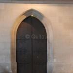 Derrière cette porte, le Grand escalier qui plonge dans les caves Pommery