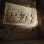 Sculptures dans la craie - Caves Pommery à Reims