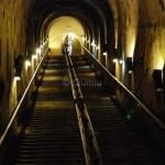 Le Grand escalier de 116 marches des caves Pommery