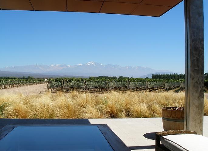 Vignobles de Mendoza en Argentine - Bodega Chakana