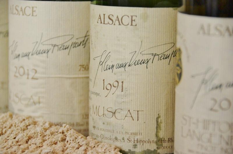 Muscat d'Alsace - Domaine Klein Aux Vieux Remparts