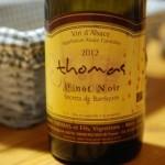 degustation domaine thomas - ammerschwihr