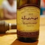 degustation domaine thomas - ammerscwihr