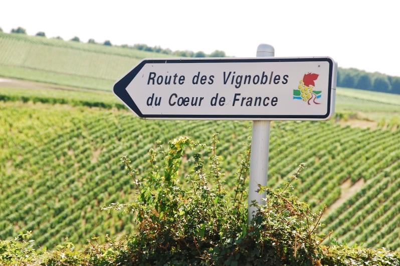 sancerre - route des vignobles du coeur de France