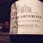 """St Nicolas-de-Bourgueil """"Les Quarterons"""" de Xavier et Thierry Amirault"""