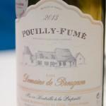 Pouilly-Fumé du domaine de Breugnon - Quitou Wine Travel en Loire - Touraine - Juin 2015