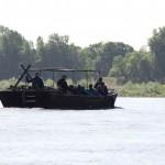 Gabarre sur la Loire à Langeais