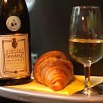 Vouvray pétillant de Vincent Raimbault au petit déjeuner...