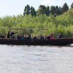 Retour vers langeaus - Gabarre sur la Loire