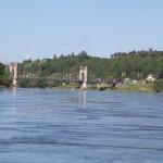 La Loire et le pont de Langeais