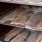 Fumoir à poissons de Romain Gadais, pêcheur professionnel en Loire