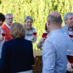 Apéritif à l'auberge de l'Ile - Quitou Wine Travel - Touraine - Juin 2015