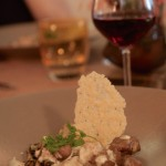 Un plat de triperies fines moutardées et champignons des bois qui a marqué les esprits... Auberge de l'Ile à L'Ile Bouchard