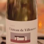 Château de Villeneuve 2011 - Saumur-Champigny, pour accompagner les rognons...
