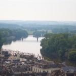 La Vienne à Chinon depuis le château