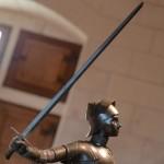 Jeanne d'Arc à la forteresse royale de Chinon