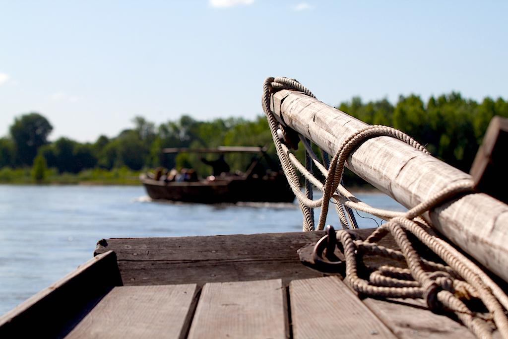 Bateaux traditionnels sur la Loire