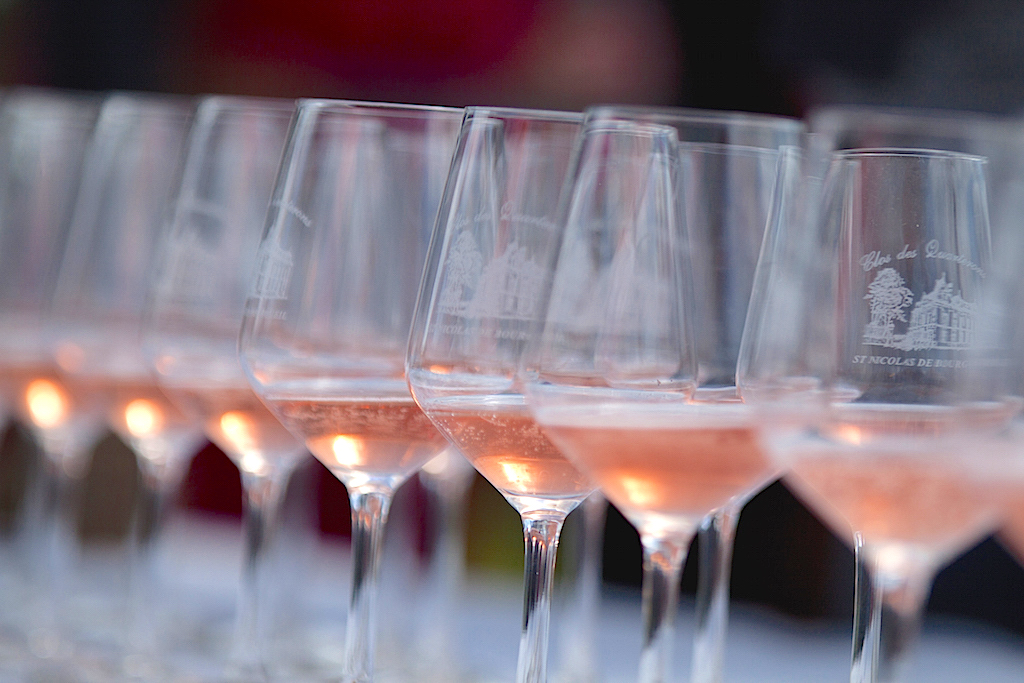 dégustation de bourgueil rosé - Laurent Herlin