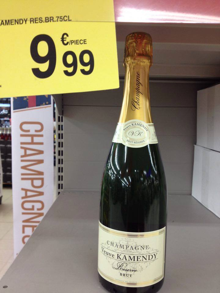 Champagne Veuve Kamendy Réserve Brut