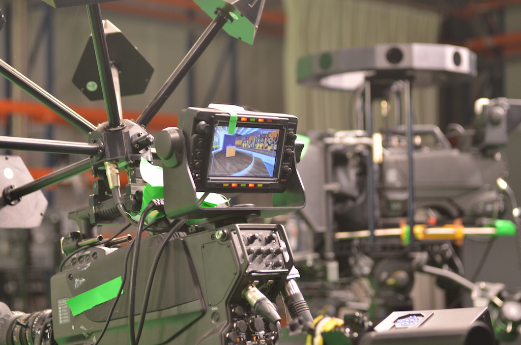Caméra du studio de Keywall