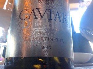 """Château de la Martinette """"Caviar"""""""