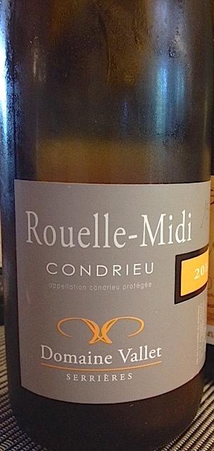 """Condrieu Cuvée """"Rouelle-Midi"""" 2014 du domaine Vallet"""