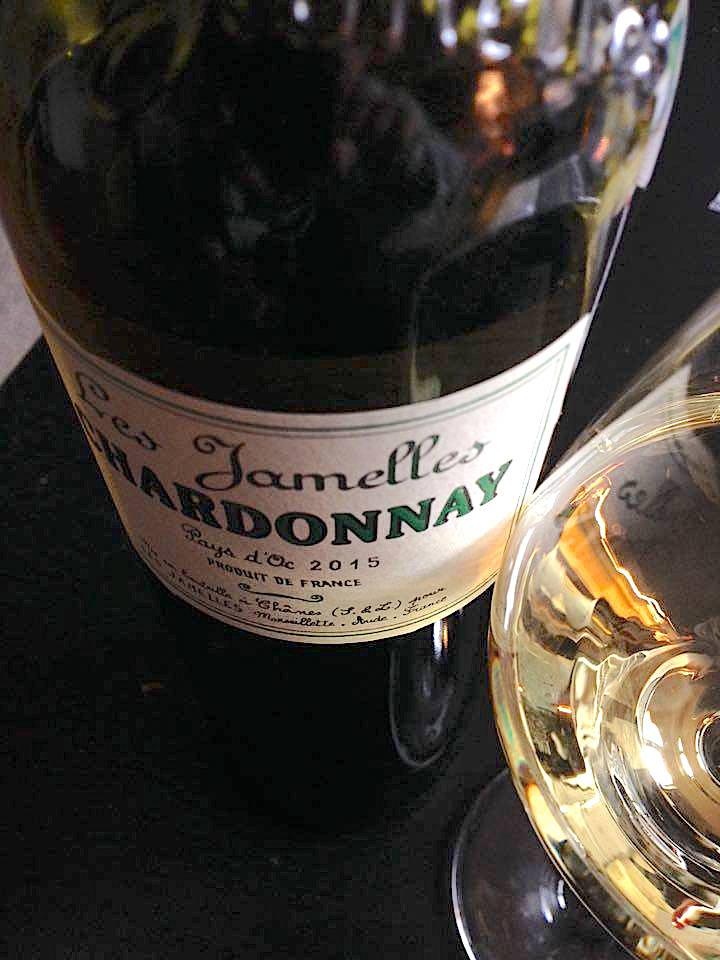Chardonnay Les Jamelles 2015 - IGP Pays d'Oc - Badet Clément & Co