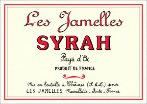 Les Jamelles Syrah IGP Pays d'Oc