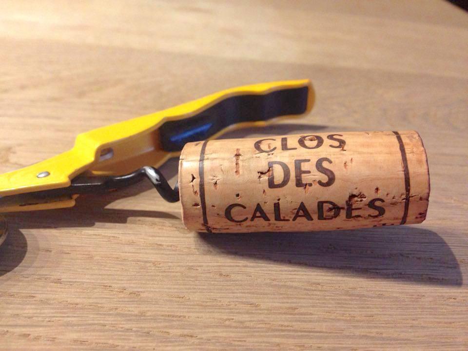 Bouchon du Clos des Calades en Languedoc