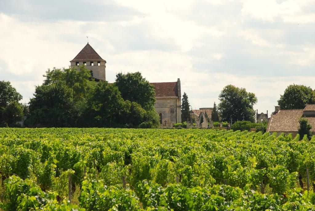 Eglise et vignoble de Montagne-Saint-Emilion